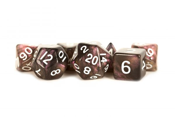 Stardust Supervolcano 16mm Polyhedral Dice Set